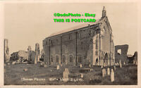 R425696 Binham Priory. North West. Postcard