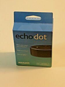 Amazon Echo Dot (2nd Generation) Smart Assistant - Black - Brand New-Sealed Box