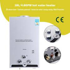 5GPM 18L LPG Propane Gas Tankless Hot Water Heater Instant Boiler Shower Home Us