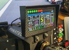 """7"""" Dashboard v3 Pro für Fanatec Podium DD, CSW Bases, PC USB HDMI DIY MOC"""