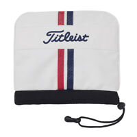 Titleist JAPAN Iron PU Leather Headcover Golf AJIC9 New White Tricolor