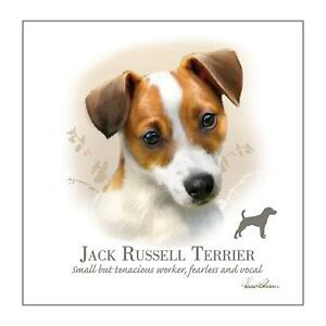 Lovely Jack Russell Card by Countryside Collection blank inside