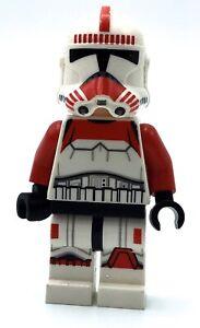 LEGO SHOCK TROOPER MINIFIGURE STAR WARS CLONE Coruscant Police Gunship *RARE*