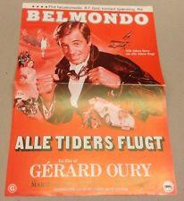 """L'as des as"" Jean-Paul Belmondo Pisier Vtg 1982 Danish Movie Press Release Kit"