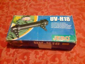 Sterilizzatore uvc  JEBO UV-H18 nuovo per acquario.