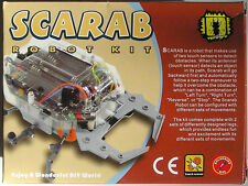ELENCO 21-884 SCARAB ROBOT DIY KIT (solder version) Ages 13+***SPECIAL***