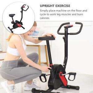Vélo d'Appartement Pliable Elliptique Ergomètre Fitness Cardio Gym