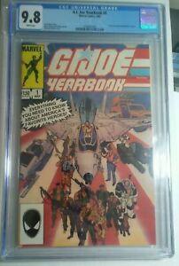 G.I. JOE Yearbook #1 CGC 9.8 white pages SNAKE EYES