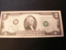 2003 $2.00 FEDERAL RESERVE NOTE IN GEM UNCIRCULATED