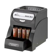 Coin Sorter Electric Counter Automatic One Row Wrapper Machine Cash Money Bank