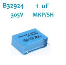 1 x condensateur 1µF 305V 1uF 305v X2 MKP B32924