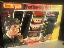 Matchbox Railway Set G2 Eisenbahn Zug + SCHIENEN IN OVP Lesney Superfast Train