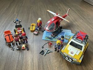 Playmobil Bergrettung Set 9127, 9128 & 9130