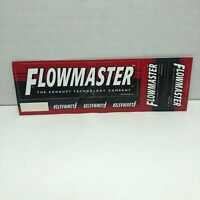 Flowmaster Bumper Sticker Decal
