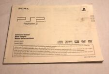 Sony Playstation 2 PS2 Console Instruction Manual SCPH-79001