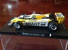 VENDO F1: RENAULT  turbo RE 20/23  DEL 1980