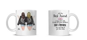 Best Friend Personalised New quotes Any Name Mug Christmas Gift