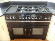 RANGEMASTER EXCEL 110CM DUAL FUEL RANGE COOKER. LPG/MAINS GAS FAN ELECTRIC OVEN