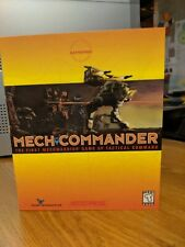 Mech Commander First Mechwarrior Game, *Absolutely Complete*  PC CD-ROM BIG BOX
