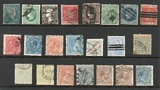 Spain 1850- collection of 22.Used. Fine.