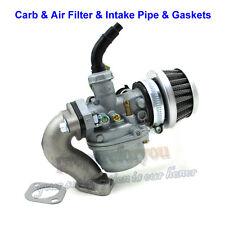 PZ19 19mm Carb Carburetor Air Filter Intake Pipe Gasket 50 70 90 110cc ATV Quad