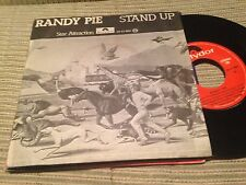 """RANDY PIE - SPANISH 7"""" SINGLE SPAIN STAND UP - POLYDOR 78"""