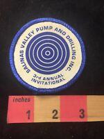 Vtg 3rd Invitational SALINAS VALLEY PUMP & DRILLING INC. Advertising Patch 88NM