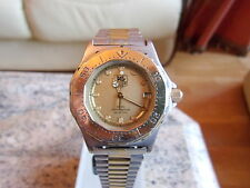Mens Vintage Tag Heuer 3000 Series Mid Size Watch Genuine 935.413