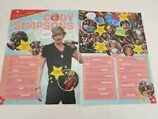CODY SIMPSON Nice Danish article clipping Cutting T62