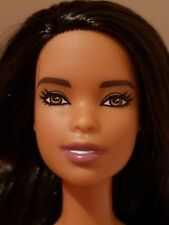*NUDE DOLL* 2018 AA TALL FASHIONISTA BARBIE,LIGHT SKIN ,LONG RAVEN  HAIR