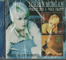Lorrie Morgan - Watch Me & War Paint ( CD 2014 ) NEW / SEALED