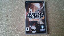Football Manager Handheld 2009 (Sony PSP, 2008) - European Version
