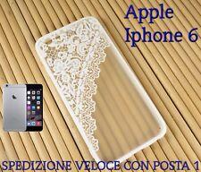 """Cover custodia rigida bordo in gomma smartphone Apple Iphone 6 4.7"""" DISEGNO 2"""