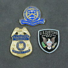 US U S Customs Inspector Border Officer Commemorative 3 Pin Set