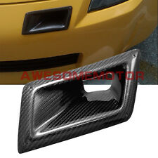Carbon Fiber Front Bumper Left Air Vent Insert Duct For 03-07 Nissan 350Z AM