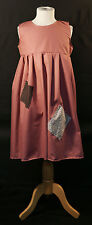 VICTORIAN Dusky Pink Annie/Workhouse/Orphan/Servant -Patched FANCY DRESS outfit