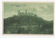 Germany, Schloss Schaumburg a.d. Lahn Sudseite Postcard, A594