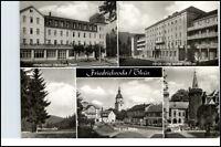 FRIEDRICHRODA Thüringen DDR Mehrbild-AK ua. FDGB Heim Walter Ulbricht u. Kirche