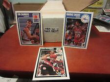 1989-1990 Fleer Basketball pick 25 finnish your set nm