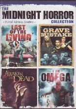 3 DVDs - MIDNIGHT HORROR COLLECTION - Zombies - Urban Legends Road Trip to Hell