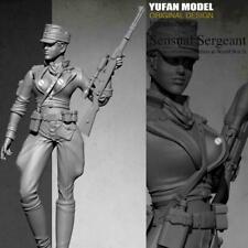 YuFan 1/35 World War II Female Sniper Soldier Warrior H SCAR Resin Model Sc A6F8