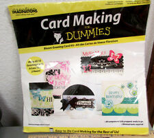 Card making for dummies, greeting card kit, 10 different cards in kit, fun item!