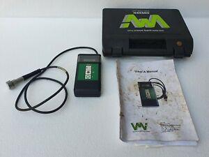 VMI International Viber-A Vibration Meter # Made In Sweden