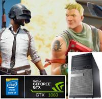 Gaming PC Desktop: Dell Intel Core i7 3.8GHz@GTX 1060@SSD@12GB RAM@1TB HDD@Wi-Fi
