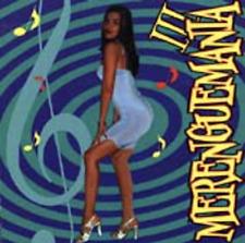 Audio CD - MERENGUEMANIA III 3 - Gisselle Vargas - Like New USED (LN) WORLDWIDE