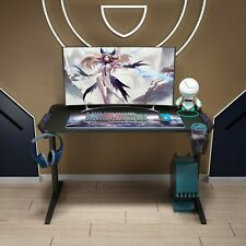 48'' Gaming Table Ergonomic Computer Desk Pc Laptop Writing Table Racing Style
