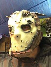 Horror halloween  Friday The 13th Jason latex full overhead mask Costume Prop