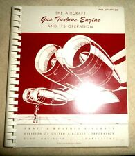 AIRPLANE AIRCRAFT GAS TURBINE ENGINES AND ITS OPERATION PRATT WHITNEY AIRCRAFT
