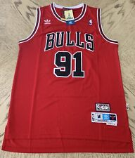 30a26d56f85 New Dennis Rodman Throwback Swingman Jersey  91 Chicago Bulls Red Mens S-XXL