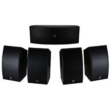 Dayton Audio HTS-1200B Home Theater Speaker System Black